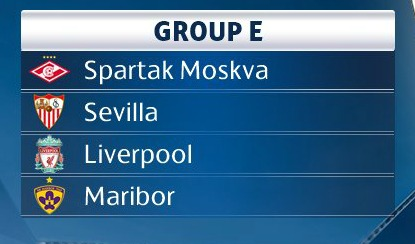 Liverpool Group E Champions League 2017-18