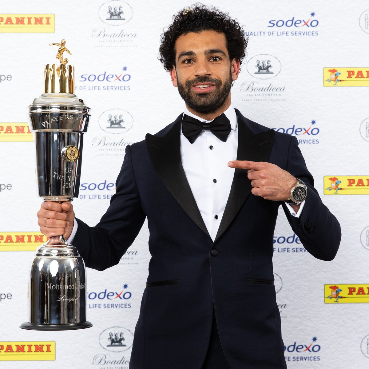 Mohamed Salah wins PFA Player of the year 2018